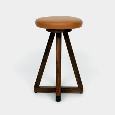 26 Swivel Bar Stool Color: Earth