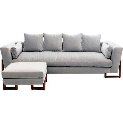 LRG Sofa Upholstery: Fog Velvet