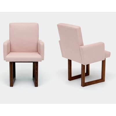 C2W Upholstered Dining Chair Upholstery: Blush
