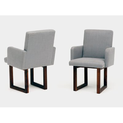 C2W Upholstered Dining Chair Upholstery: Zinc