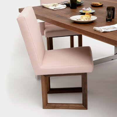 C2 Upholstered Dining Chair Upholstery: Blush