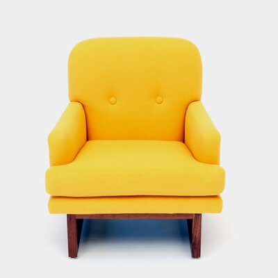 Melinda Armchair Color: Canary Yellow