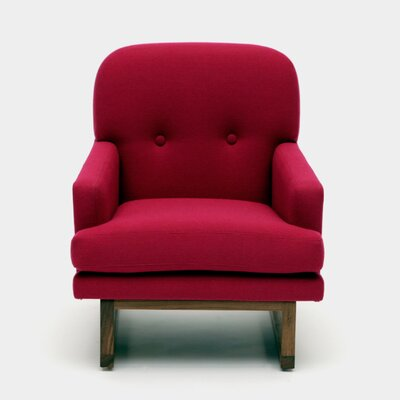 Melinda Armchair Color: Fuchsia