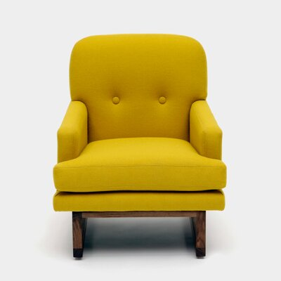 Melinda Arm Chair Color: Mustard