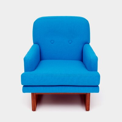 Melinda Armchair Color: Turquoise