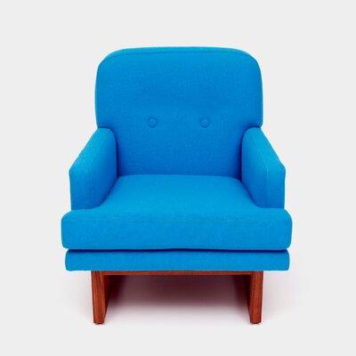 Melinda Armchair Upholstery: Turquoise
