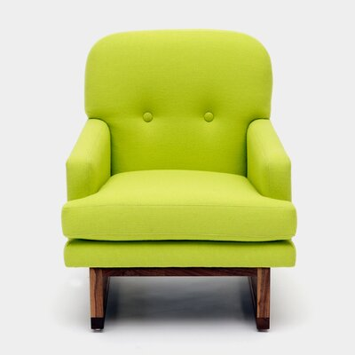 Melinda Armchair Color: Volt