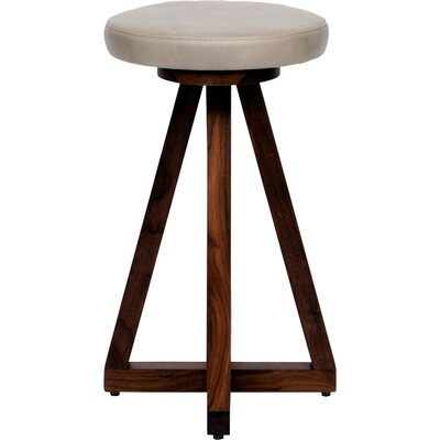 X 26 Swivel Bar Stool Color: Cashmere