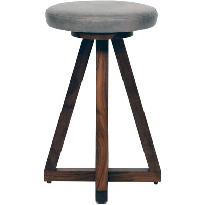X 26 Swivel Bar Stool Color: Smoke