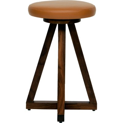 X 26 Swivel Bar Stool Color: Earth