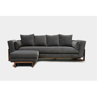 Sofa Upholstery: Flannel Aged Velvet