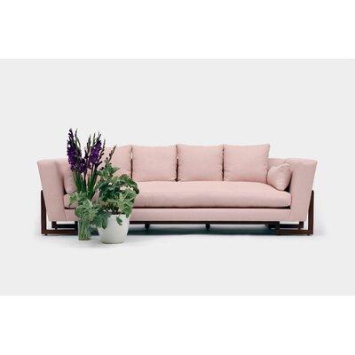 Sofa Upholstery: Blush Linen Blend