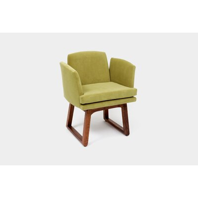 Allison Sled Upholstered Dining Chair Upholstery: Apple