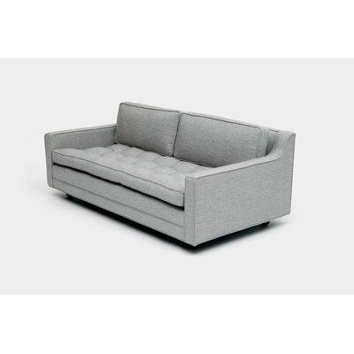 2 Seater Sofa Upholstery: Aged Velvet Taupe