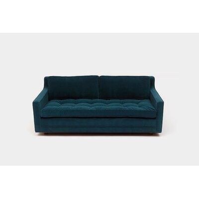 2 Seater Sofa Upholstery: Aged Velvet Paprika