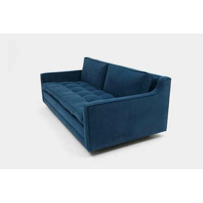 2 Seater Sofa Upholstery: Metal Linen