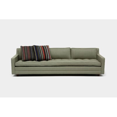 Up Three Seater Standard Sofa Upholstery: Moss Linen Blend