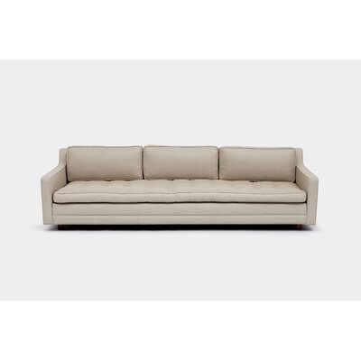 Up Three Seater Standard Sofa Upholstery: Hopsack Linen Blend