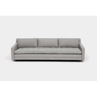 Up Three Seater Standard Sofa Upholstery: Ash Linen Blend