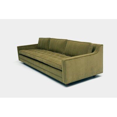 Up Three Seater Standard Sofa Upholstery: Aged Velvet Bramble