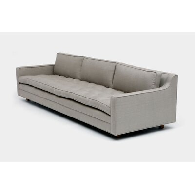 Up Three Seater Standard Sofa Upholstery: Metal Linen