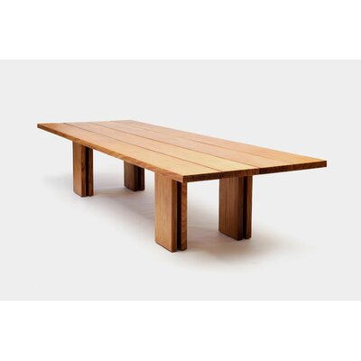 Occidental Outdoor Dining Table Size: 144 L x 48 W