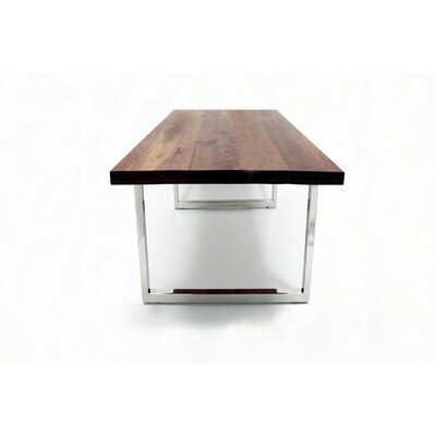 GAX Dining Table Size: 30 H x 120 W x 48 D, Finish: Catalytic Lacquer