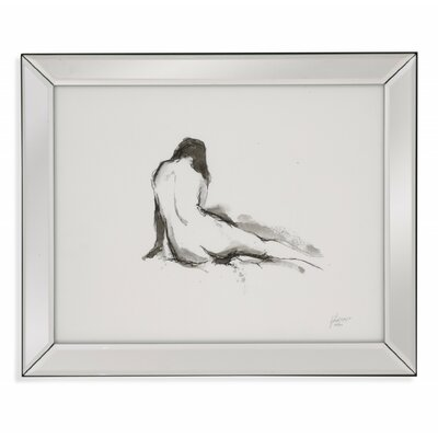 Ink Figure Study I Framed Painting Print 9900-690AEC