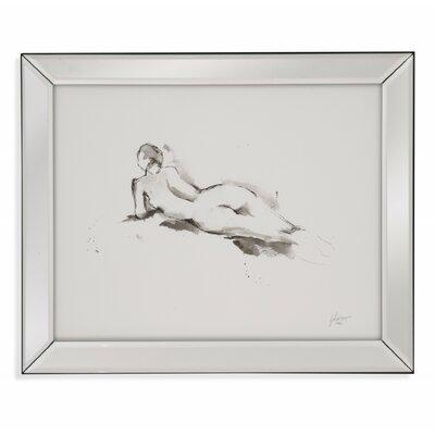 Ink Figure Study IV Framed Painting Print 9900-690BEC