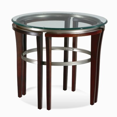 Buy low price bassett mirror fusion round end table in for Buy round table