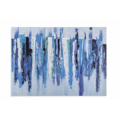 'Landscape Blue' Print on Canvas