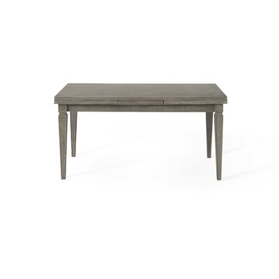 Jewell Extendable Dining Table Finish: Gray