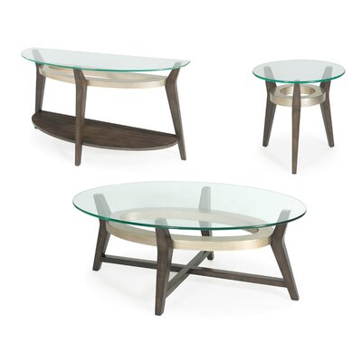 Wroblewski 3 Piece Coffee Table Set