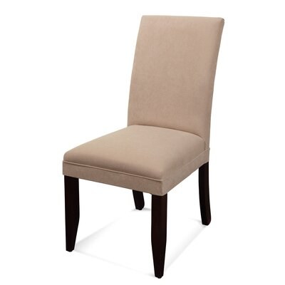 Contempo Parsons Chair Upholstery: Beige