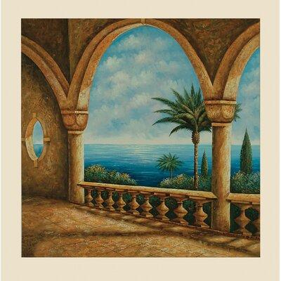 Portico Original Painting On Canvas