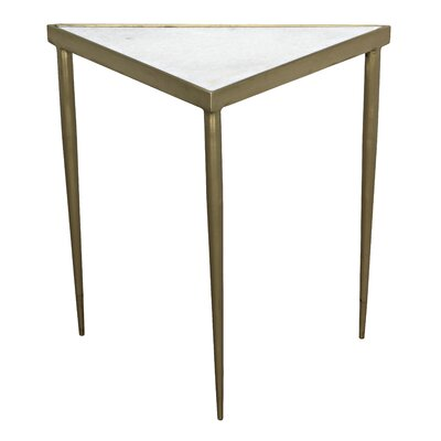 Comet Triangle Medium End Table