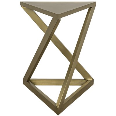 Orpheo End Table Finish: Brass