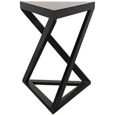 Orpheo End Table Finish: Metal