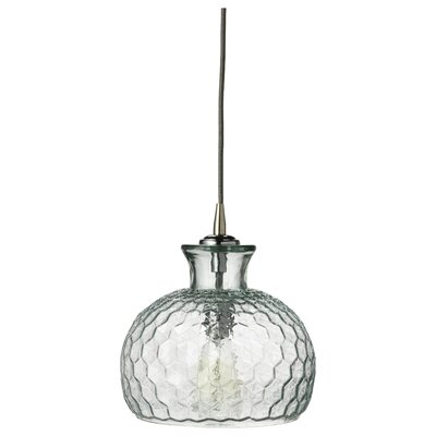 Clark 1-Light Mini Pendant Finish: Clear