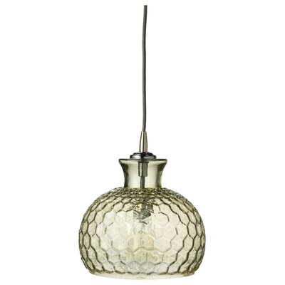 Clark 1-Light Mini Pendant Finish: Taupe