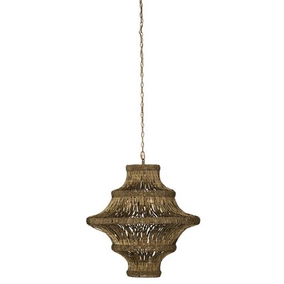 4-Light Lantern Pendant Finish: Antique Gold