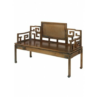 Dream Settee Frame Finish: Antique Brass