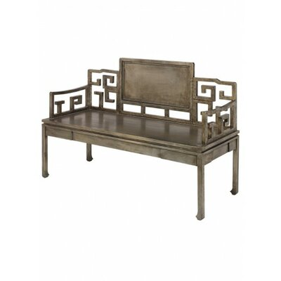 Dream Settee Frame Finish: Antique Silver