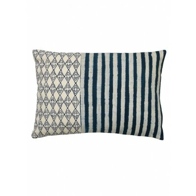 Kozu Cotton Lumbar Pillow