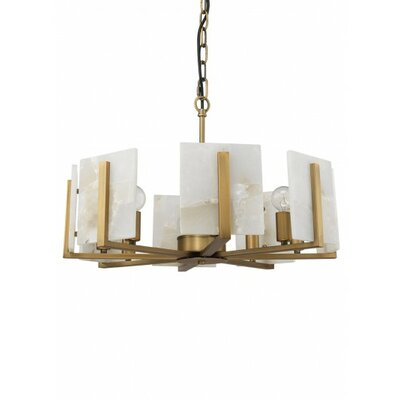 Inman 8-Light Drum Chandelier Finish: Brass