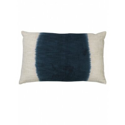Marcus Cotton Lumbar Pillow Color: Blue/White