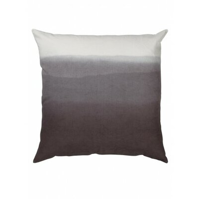 Fade Cotton Throw Pillow Color: Gray