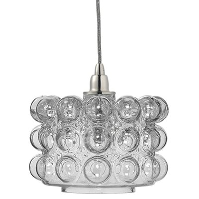 Cici 1-Light Mini Pendant Shade Color: Clear