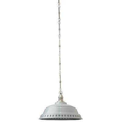 Canisteo 1-Light Inverted Pendant Shade Color: Gray