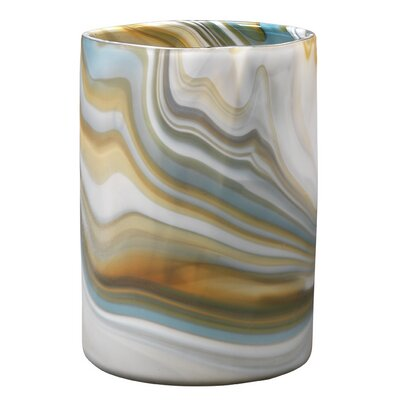 Brayden Studio Natalie Glass Table Vase